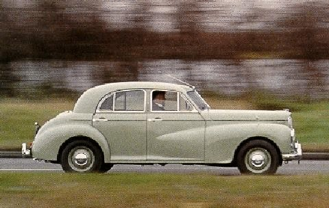 Morris Six Saloon