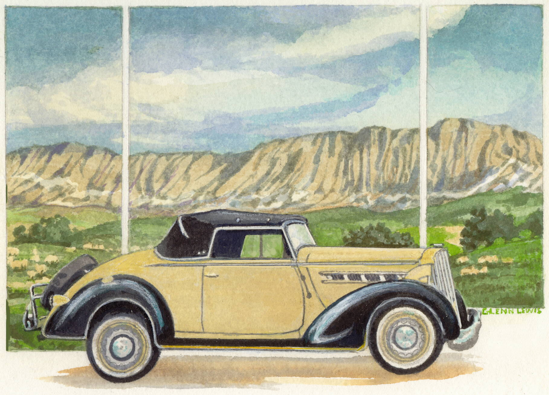 Packard 115C coupe