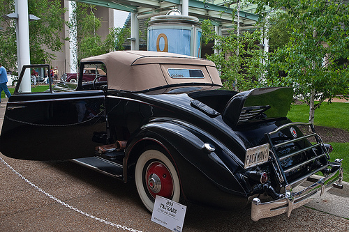 Packard 1201-819 Coupe Convertible