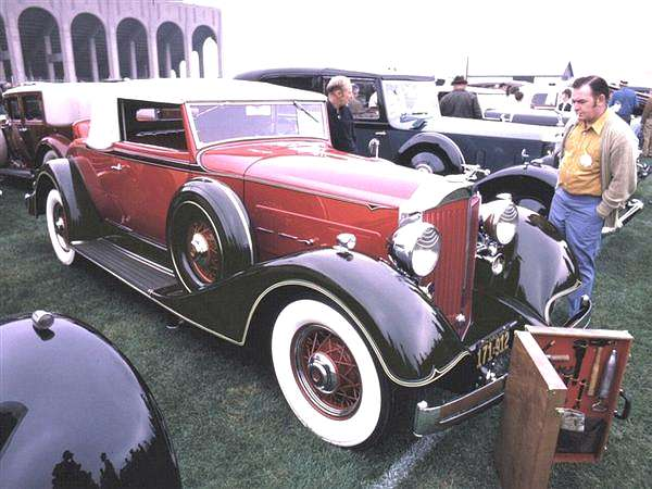 Packard 2-dr Coupe