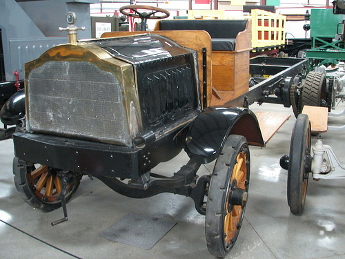 Packard Model D 1 Ton Chassis