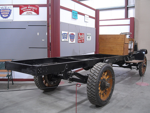 Packard Model TD 3 Ton Chassis