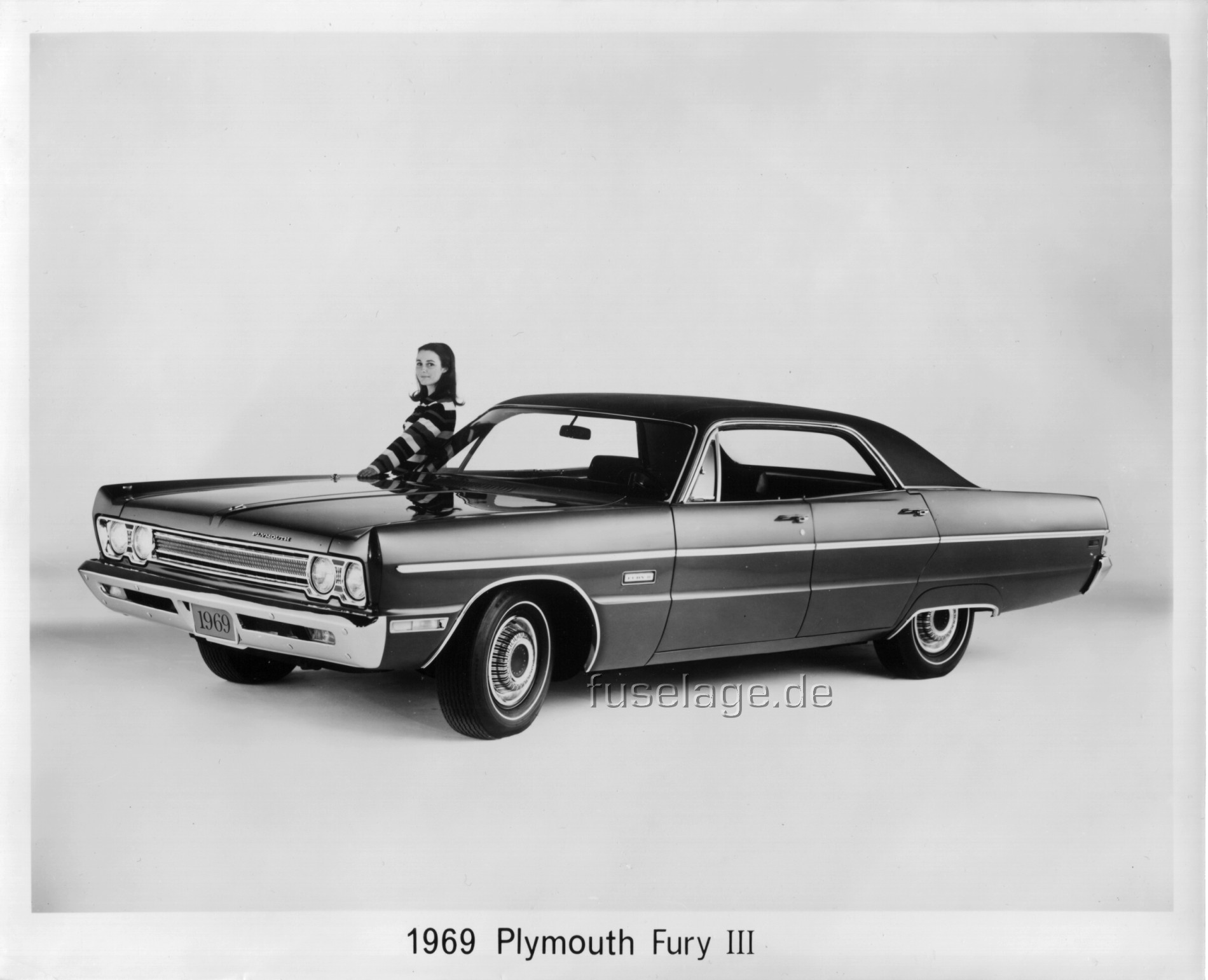 Plymouth Fury 4dr HT