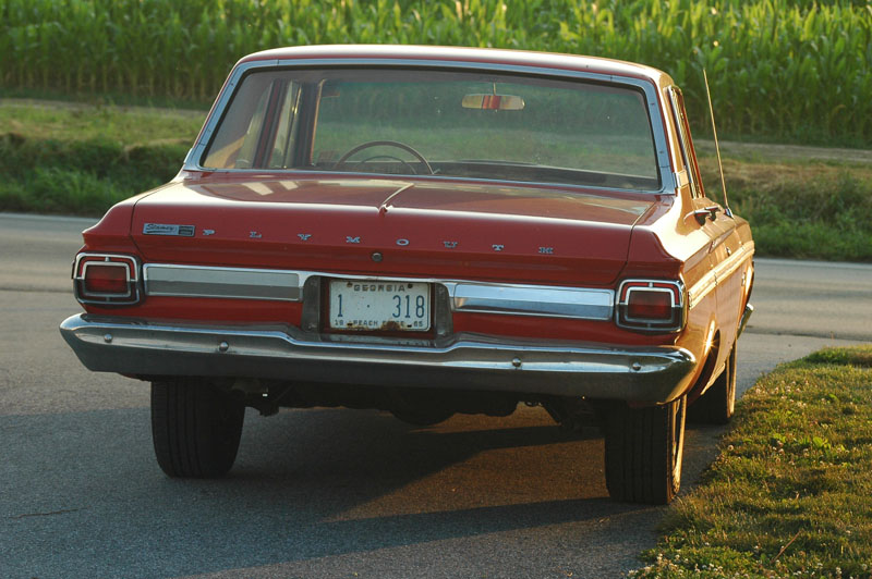 Plymouth Belvedere II 4dr lwb