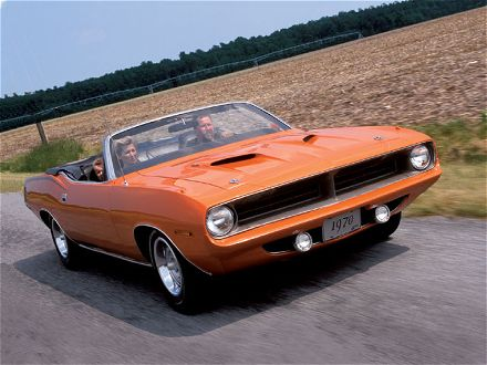 Plymouth Barracuda Convertible