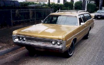 Plymouth Fury Suburban