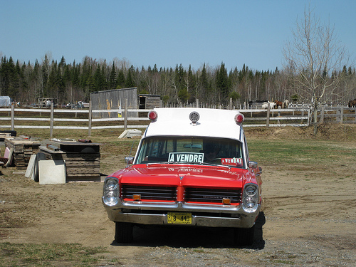 Pontiac Bonneville-Superior Ambulance