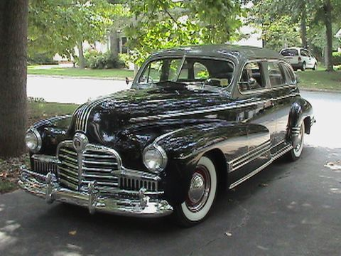 Pontiac Streamliner 4dr sedan
