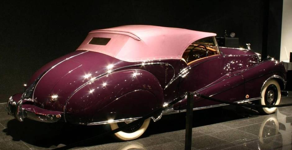 Rolls Royce Silver Wraith Inskip Cabriolet - specs, photos ...