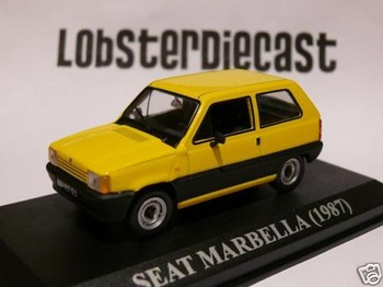 Seat Marbella Yellow