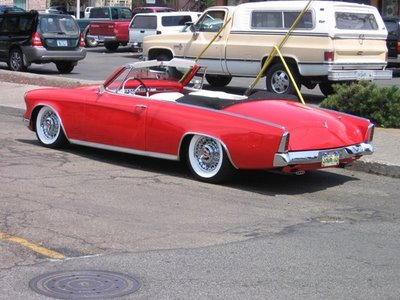 Studebaker Commander Convertible