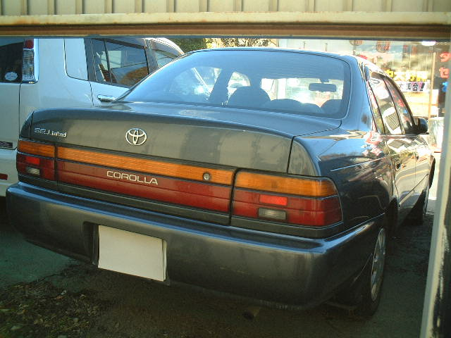 Toyota Corolla SE Limited