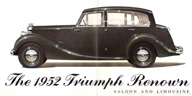 TopWorldAuto >> Photos of Triumph Renown - photo galleries