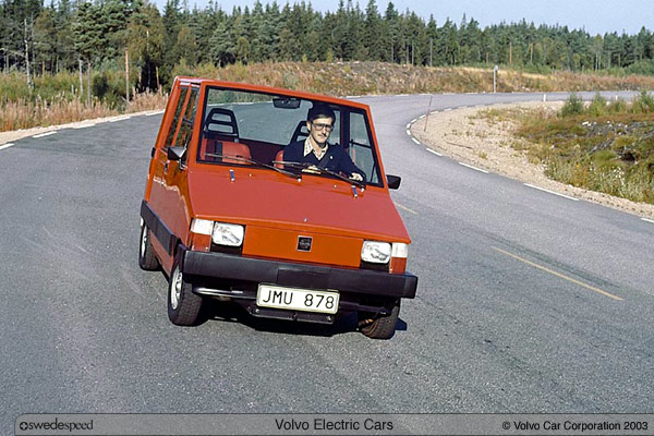 Volvo Electric car prototype