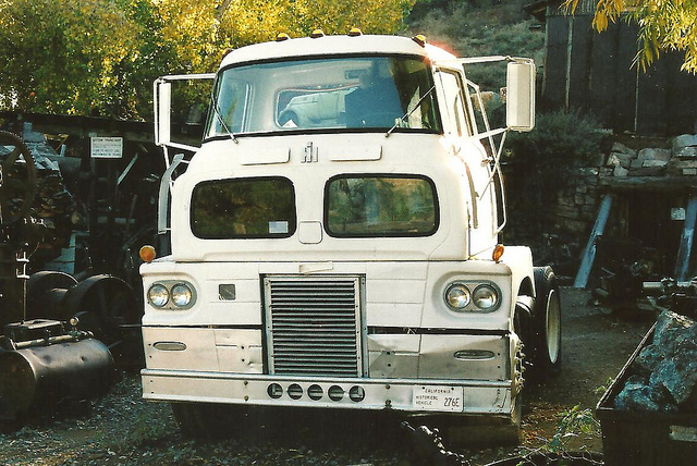 International harvester cab