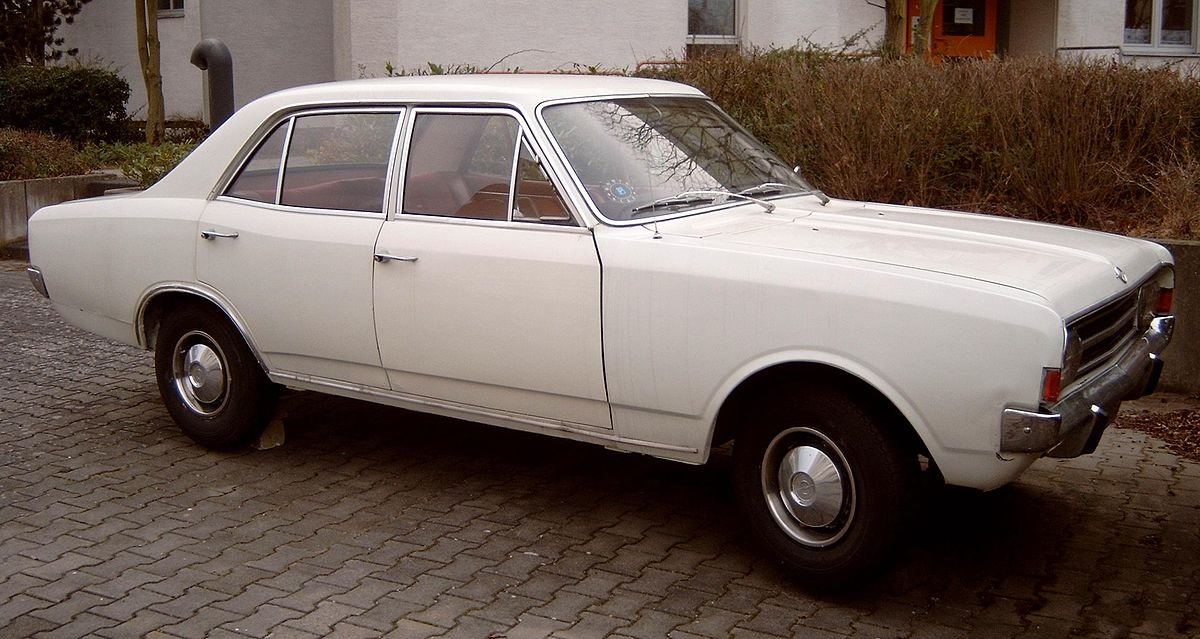 Opel Rekord Sprint coupe