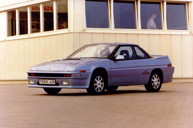 Subaru XT Turbo coupe