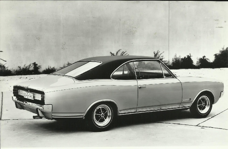 Opel Commodore GS coupe