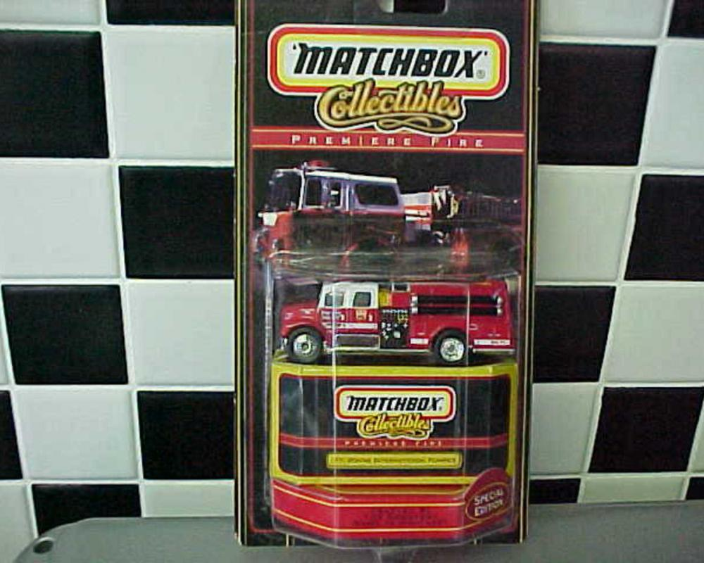 Premiere Fire - Fort Wayne Pumper, Tiny Toy Collectibles