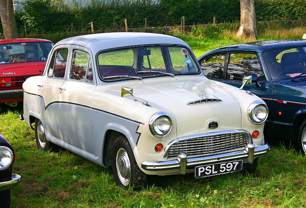1958 Austin A55 Cambridge | QSHV Auto Wallpapers