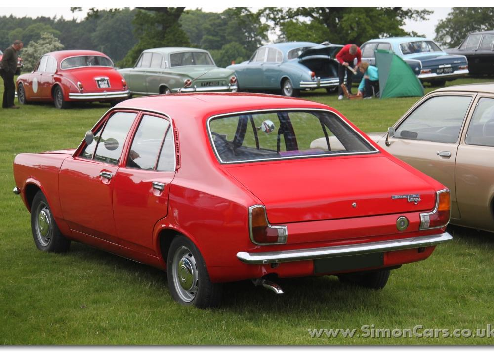 Simon Cars - Hillman Avenger and Plymouth Cricket