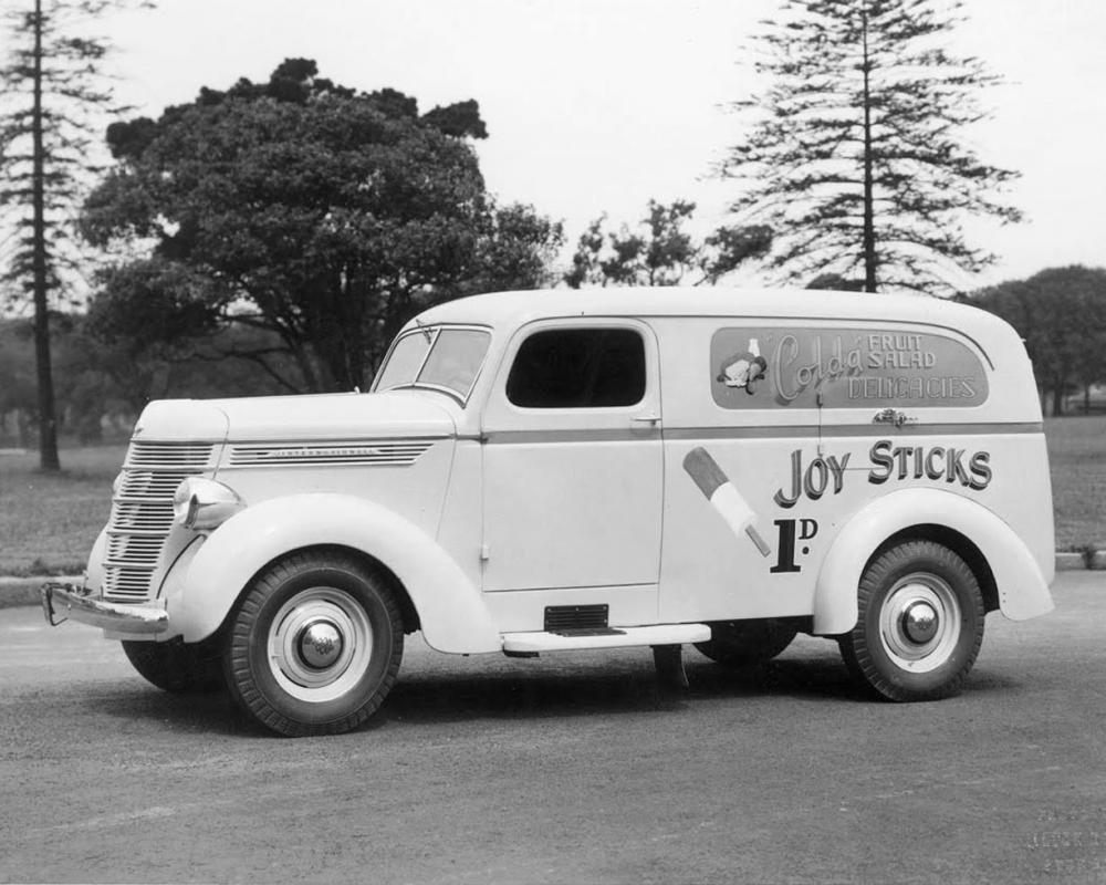 transpress nz: a pre-WW2 International van