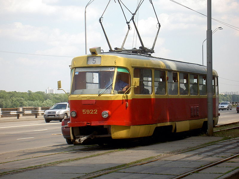 Kiev tram Picture Gallery - Photo Gallery - Images