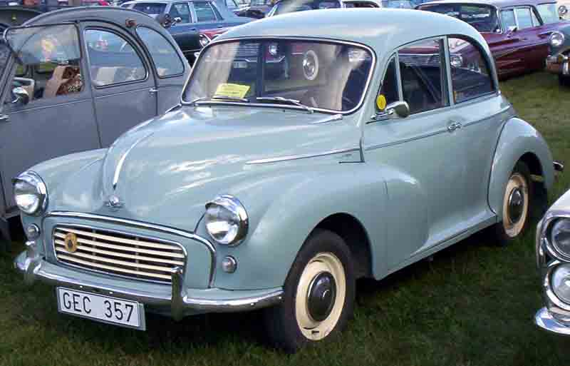 File:Morris Minor 1000 1960.jpg - Wikimedia Commons