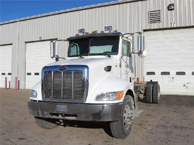PETERBILT 335 CAB CHASSIS TRUCK FOR SALE - Trucks - Commercial ...