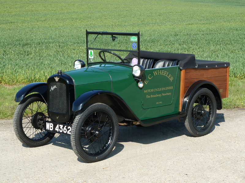 c.1928 Austin Seven 'Chummy'-style Pick Up Auction - Classic Car ...