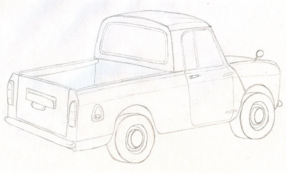 Austin Mini Pickup View Download Wallpaper X Comments
