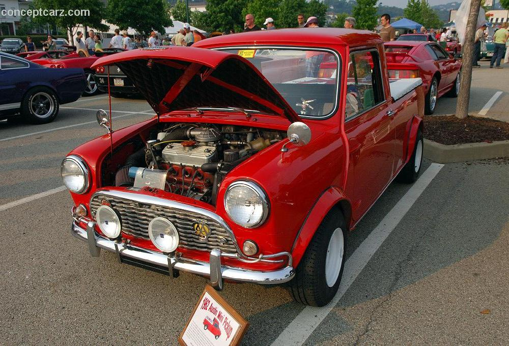 1962 Austin Mini Cooper Pickup Images, Information and History ...