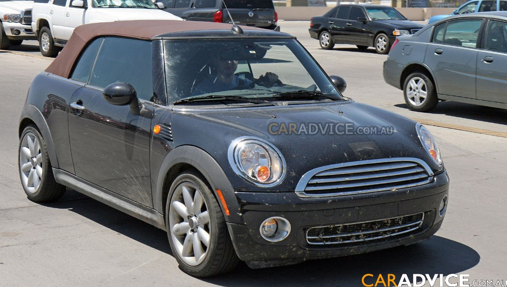 View of Mini Cooper Cabriolet. Photos, video, features and tuning ...
