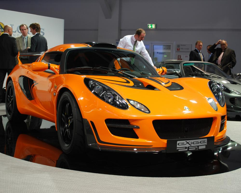 Frankfurt 2009: Lotus Elise Club Racer and Exige Cup 260 give us ...