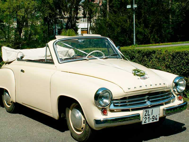 Wartburg 311 cabriolet. Best photos and information of modification.