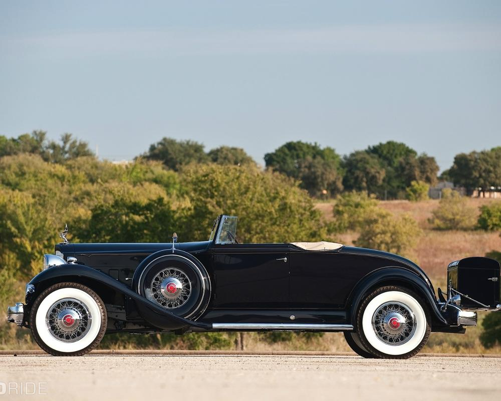 1932 Packard Twin Six 2/4-Passenger Coupe Roadster Boldride.com ...