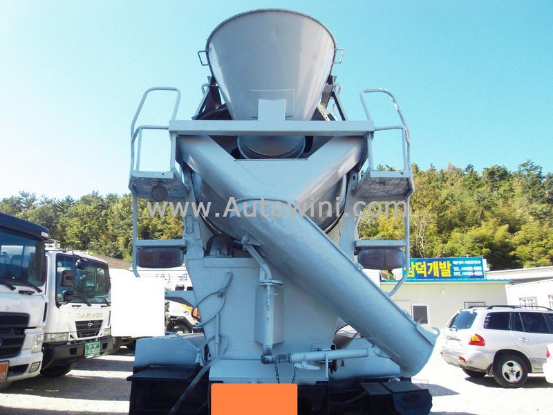 Used Equipments 1994 Samsung SM510 Concrete Machinery Mixer Truck ...