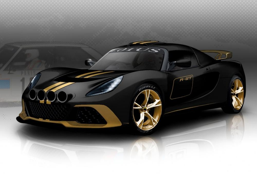 Lotus Exige R-GT Rally Car Set For April Debut