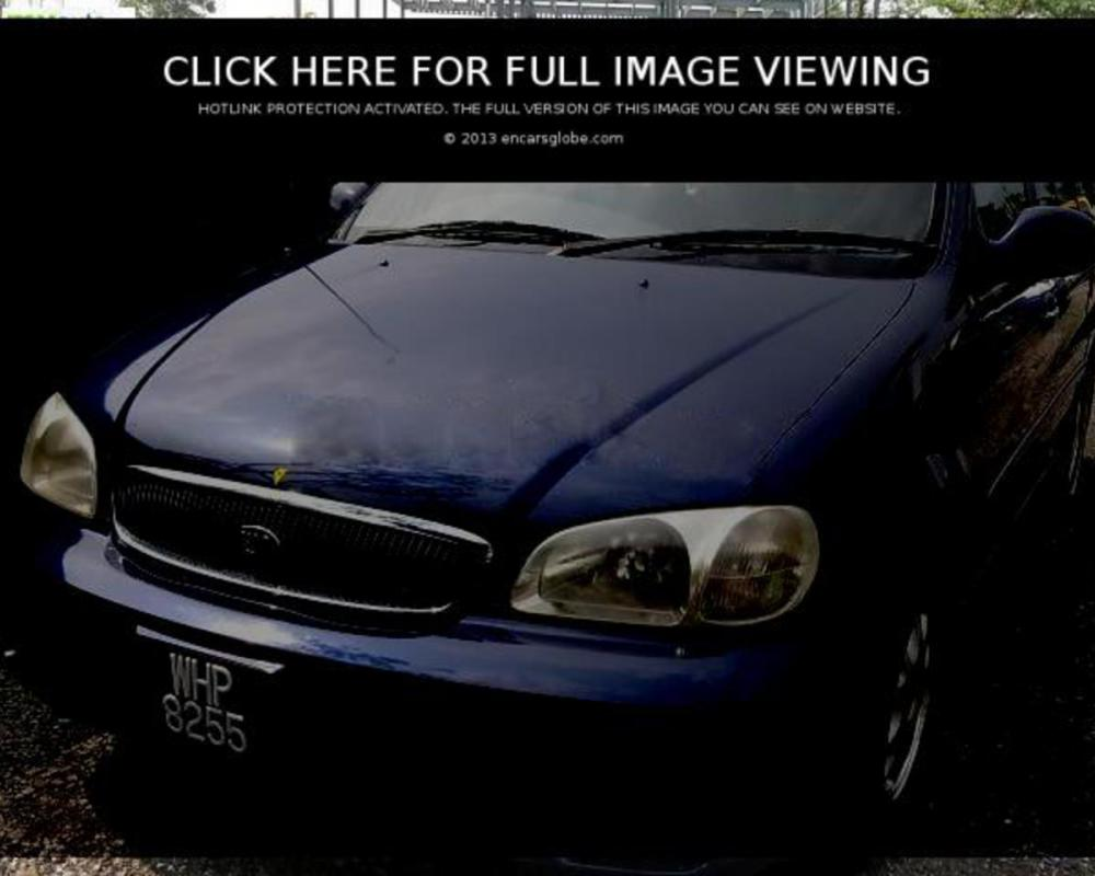 Kia Carnival 38 V6 : Photo gallery, complete information about ...