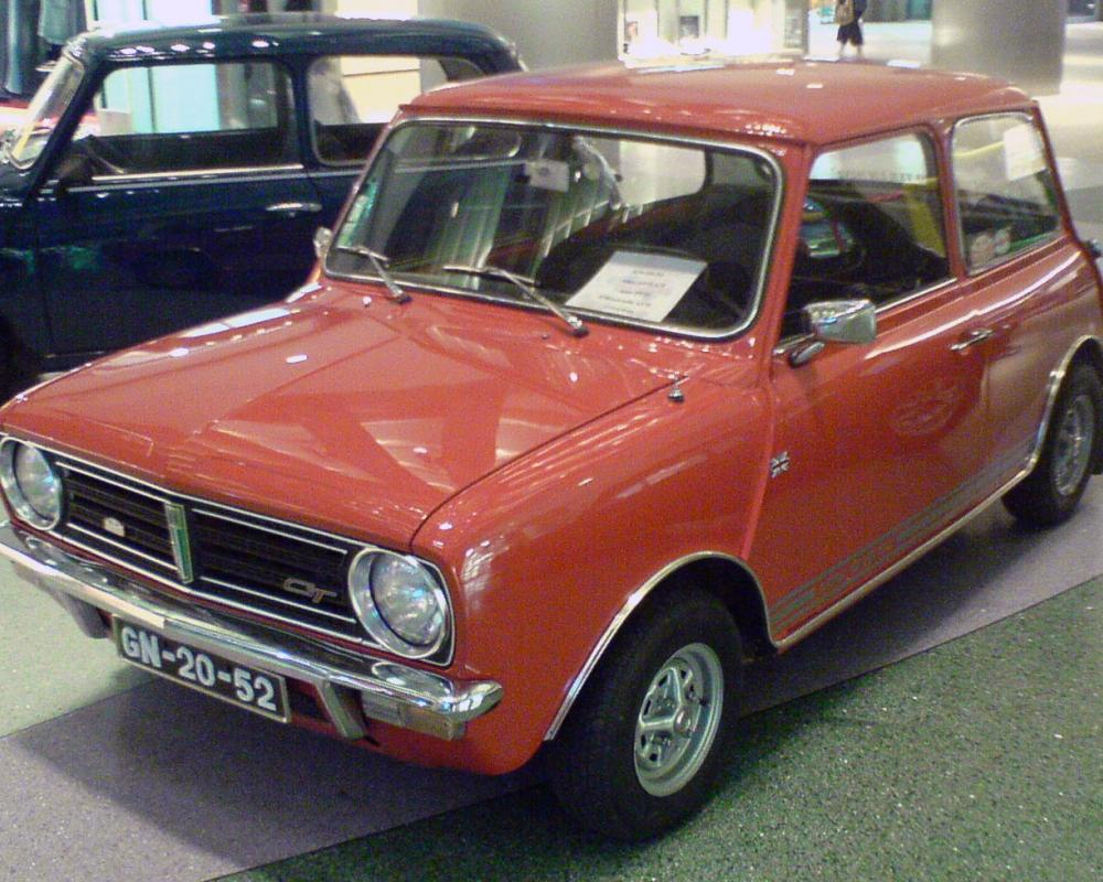 File:Mini 1275 GT, front.jpg - Wikimedia Commons