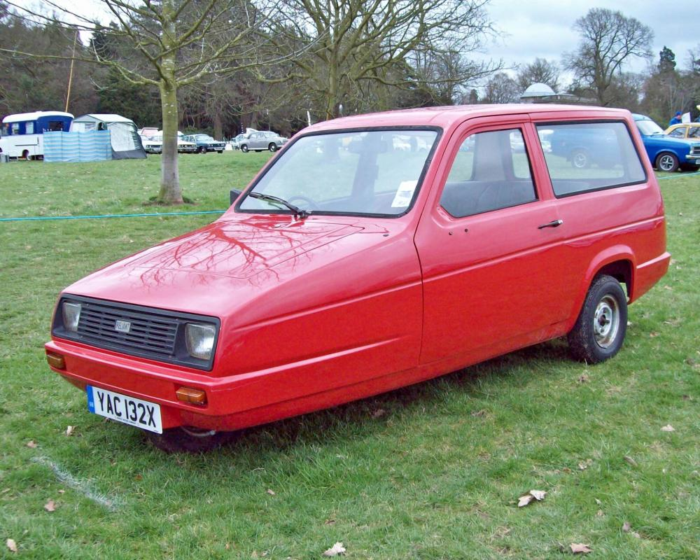 102 Reliant Rialto (1982) | Flickr - Photo Sharing!