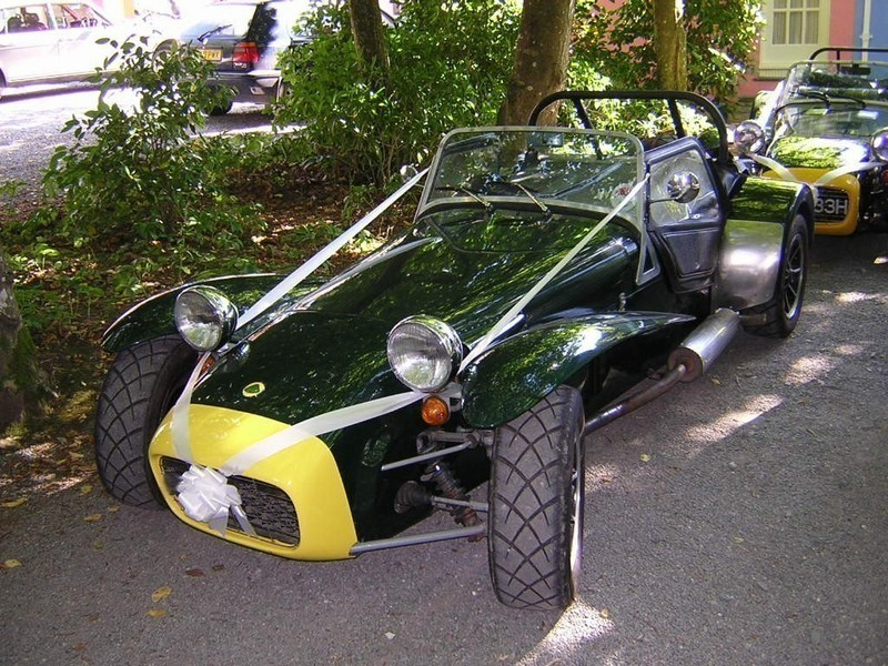 Build the Village - Caterham Seven