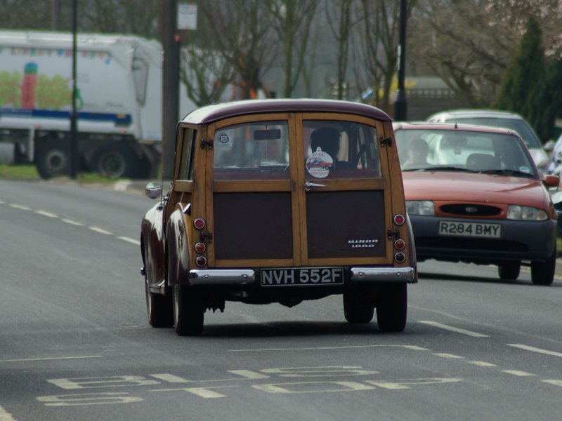 Morris Minor 1000 Traveller from the NSDK Photo Library