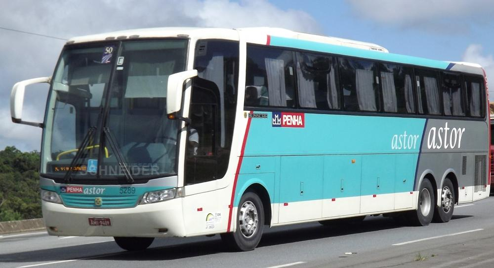 5289 PENHA - MB O500 RSD - BUSSCAR VISSTABUSS HI | BUS ON THE ROAD