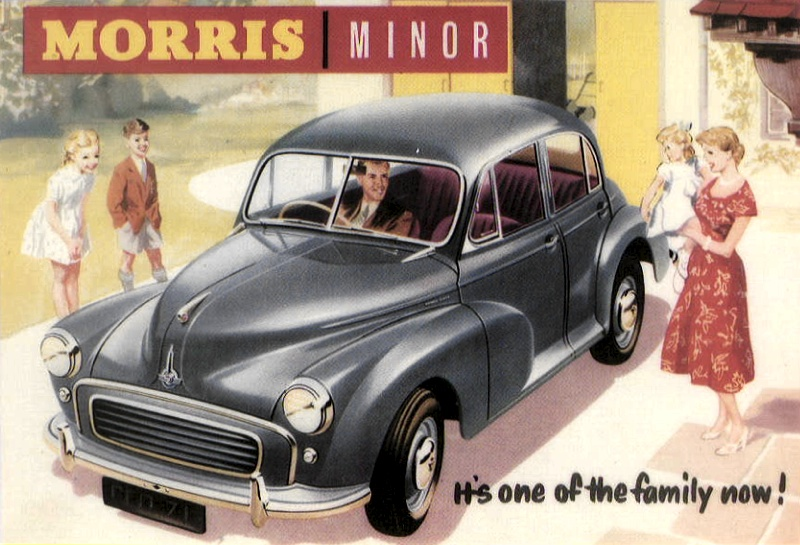 Morris Minor Review and Test Drive | Unique Cars and Parts
