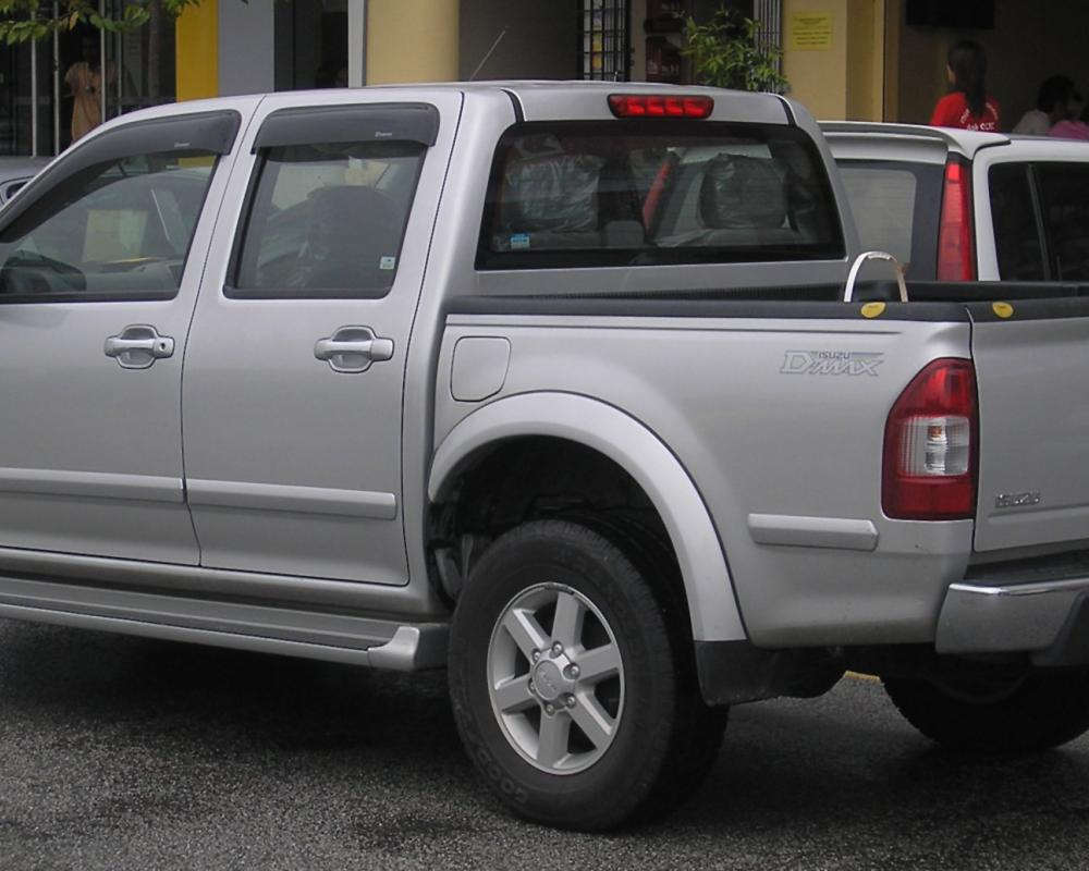 File:Isuzu D-Max (first generation) (rear), Serdang.jpg ...