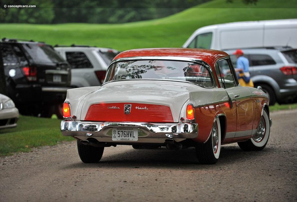 1956 Studebaker Golden Hawk at the Concours d'Elegance of America ...