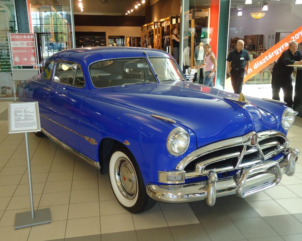 File:Hudson Hornet coupe 1951 – front right.JPG - Wikimedia Commons