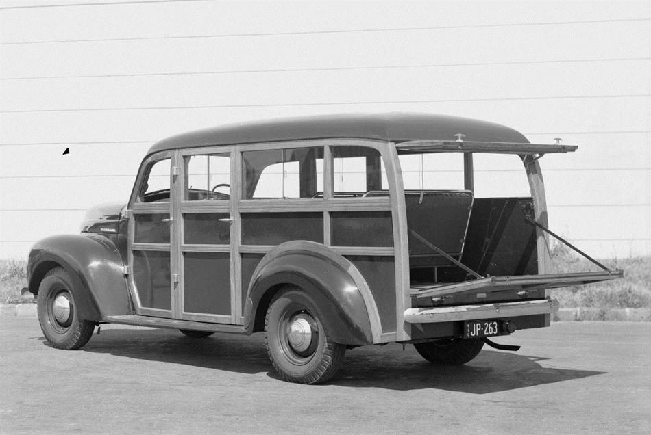 Negative - International Harvester, K Line Station Wagon, 1947 ...