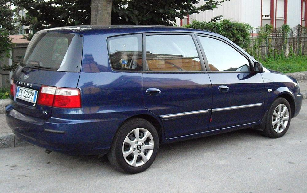 File:Kia Carens LX in Avellino.jpg - Wikimedia Commons